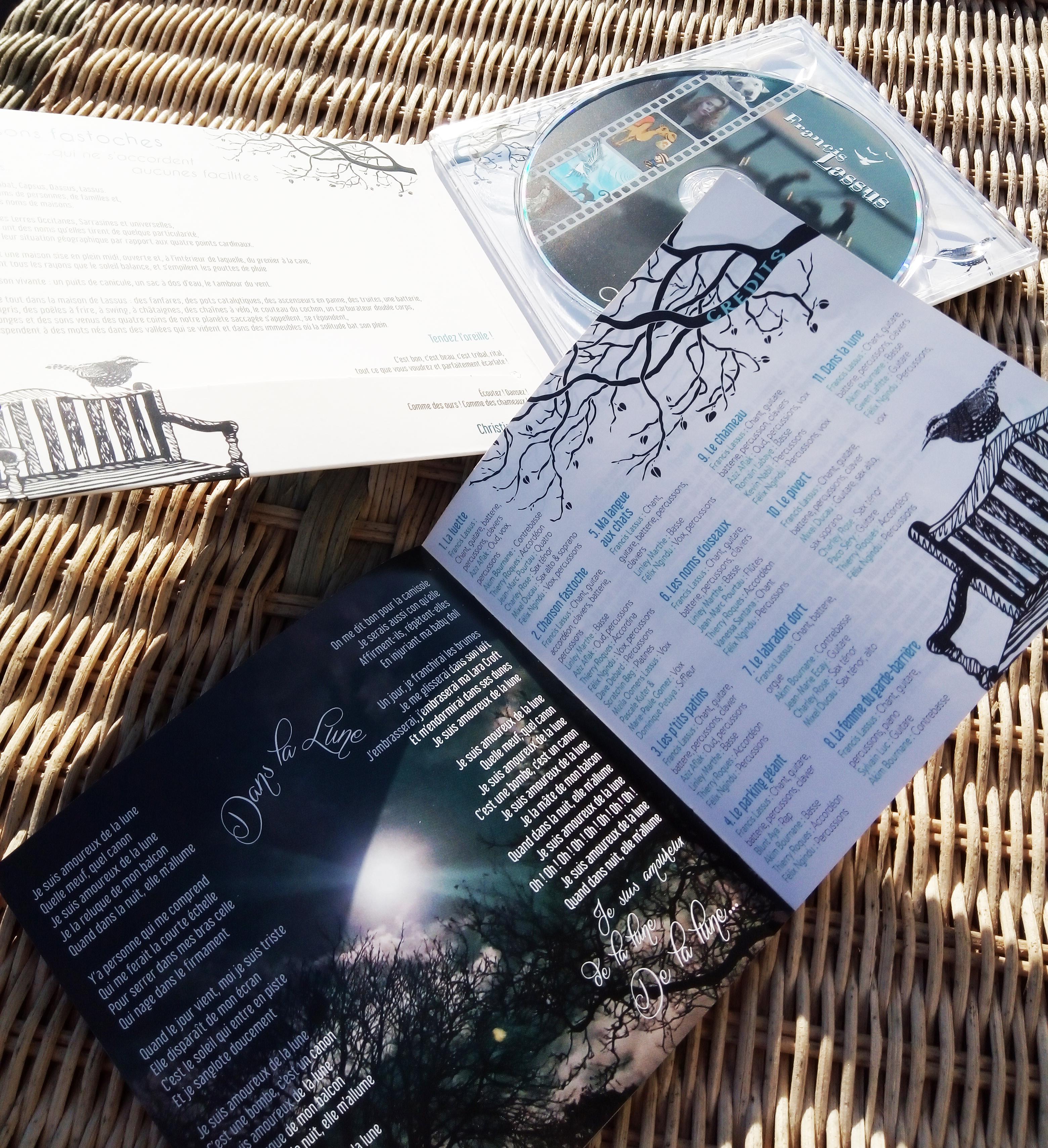 JAQUETTE CD ET LIVRET FRANCIS LASSUS
