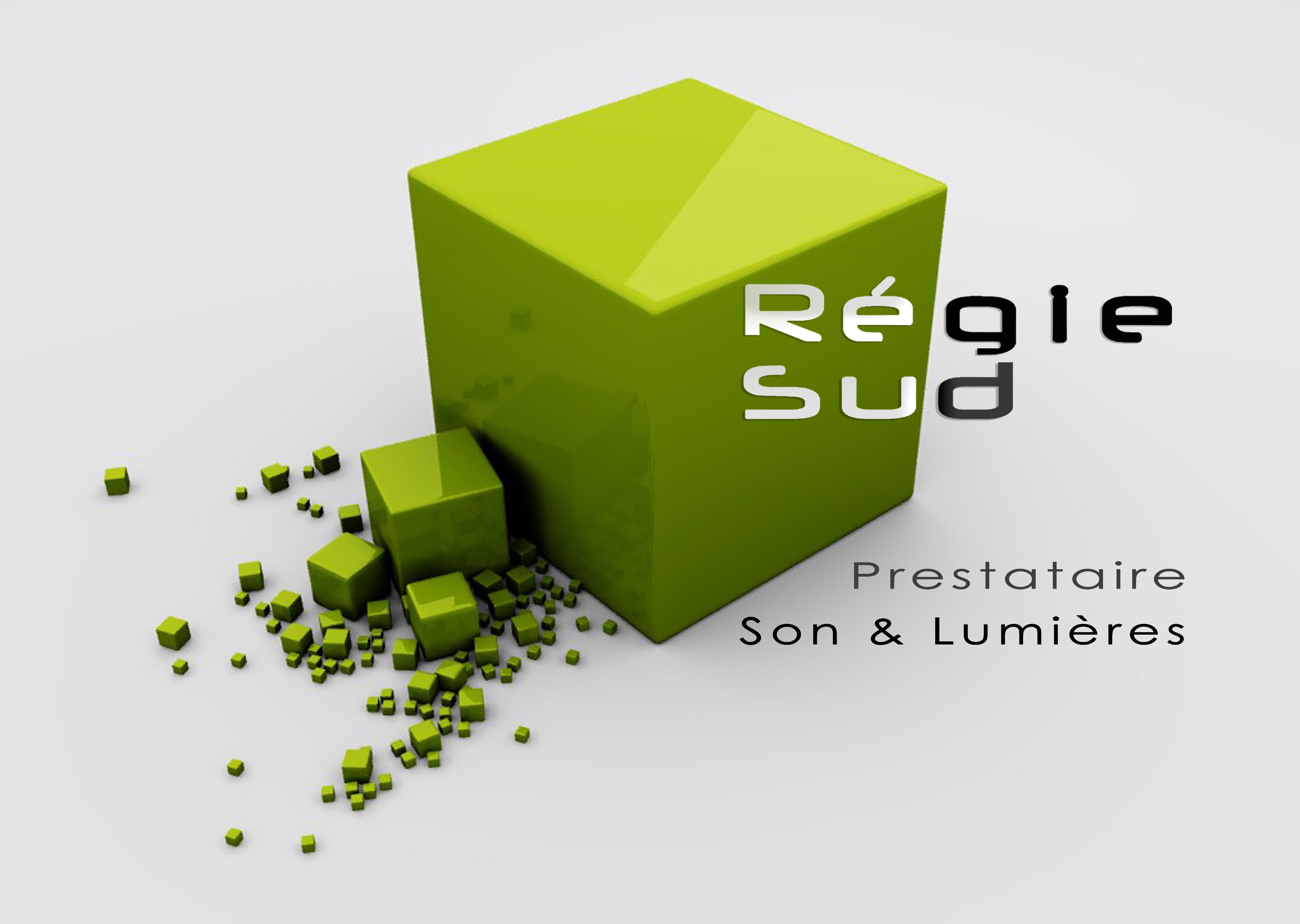 LOGO ET CARTE REGIE SUD