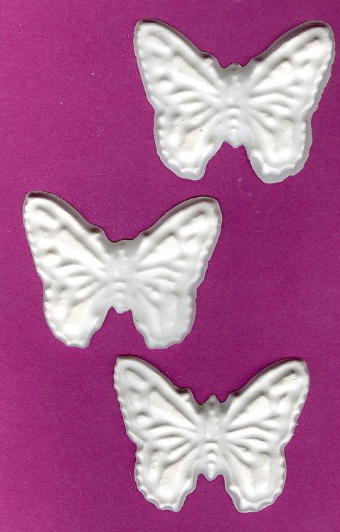 Large Butterflies plaster of Paris painting project.