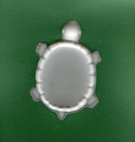 Turtle soap dish plaster of Paris painting project.