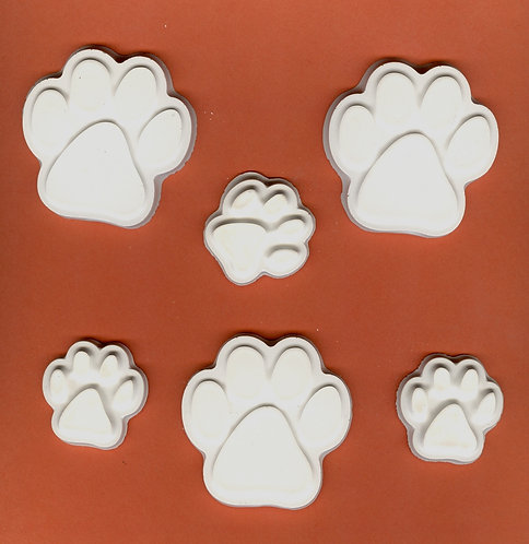 Puppy paws mix plaster of Paris painting project!