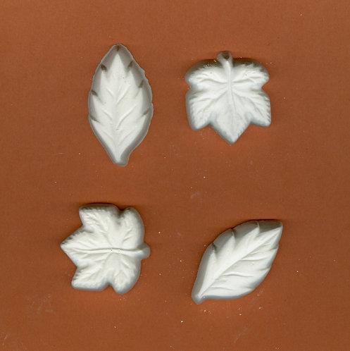 Autumn leaves plaster of Paris painting project.