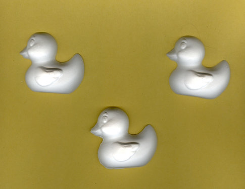 Rubber Ducky plaster of Paris painting project!