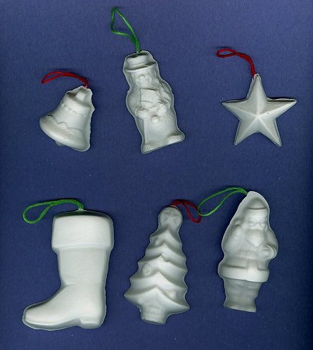 Large Christmas ornaments (Stocking) plaster of Paris painting project.