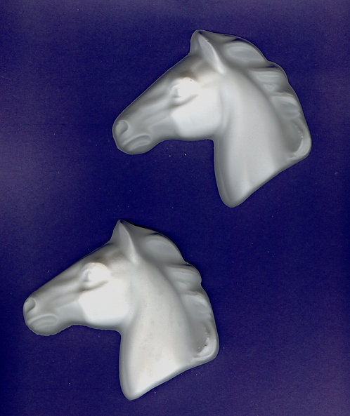 Large Horse head plaster of Paris painting project.
