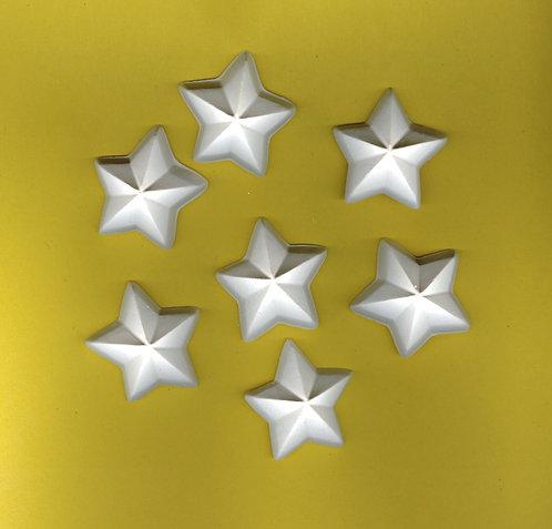 Medium star plaster of Paris painting project.