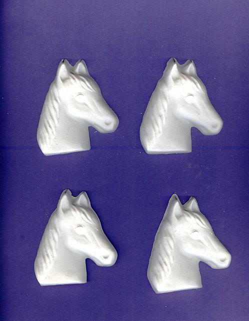 Medium Horse head plaster of Paris painting project.