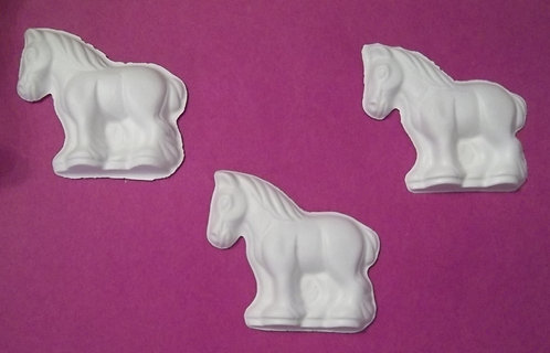 Horse (Plaster-of-Paris) painting project.