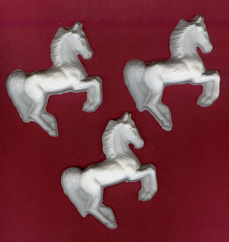 Mustang horse plaster of Paris painting project.