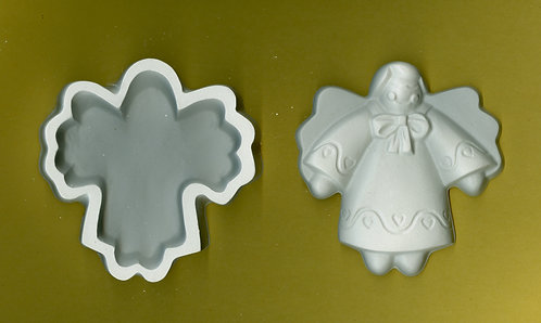 Angel box plaster of Paris painting project.