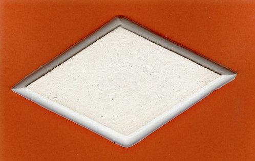 Dia-mond plaque plaster of Paris painting project.