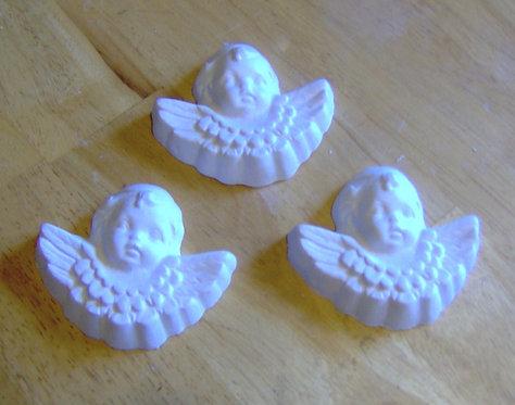 Angel or Cherub w/wings plaster of Paris painting project!