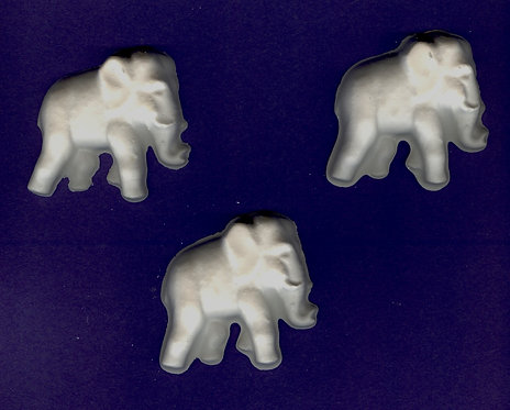 Elephant plaster of Paris painting project.