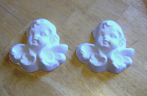 Angel or Cherub Plaster of Paris painting project!