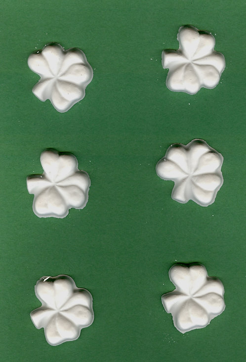 Three leaf Clover plaster of Paris painting project.
