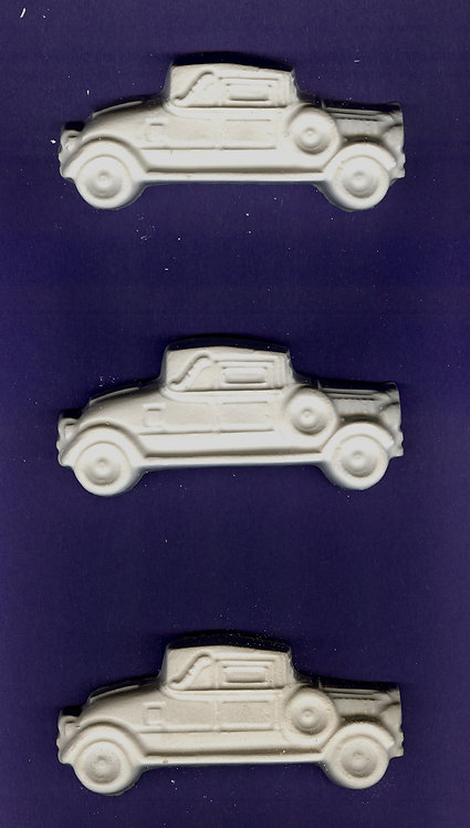 Old time car plaster of Paris painting project.