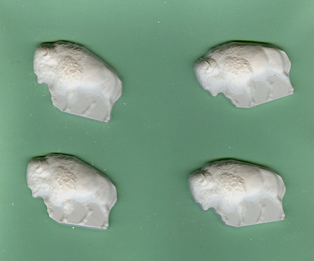 Buffalo plaster of paris painting project.