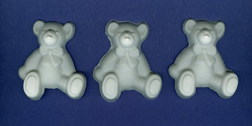 Large rag teddy bear plaster of Paris painting project.