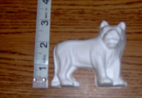 Tiger Plaster-of-Paris painting project.