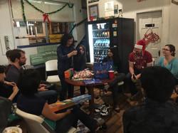 Wu/Lloyd Lab Xmas Party, Winter 2015