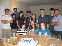 Maria's Farewell Party, Summer 2012