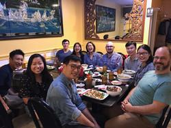 Lunch at Indochine, Summer 2019