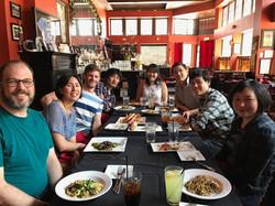 Wakako's Farewell Lunch, Summer 2017