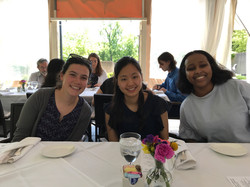 Annette's thesis lunch, Spring 2018