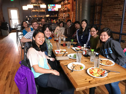 Lunch for Qili's Paper, Spring 2017