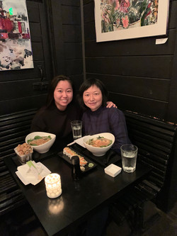 Grace and Qili, Dec 2019