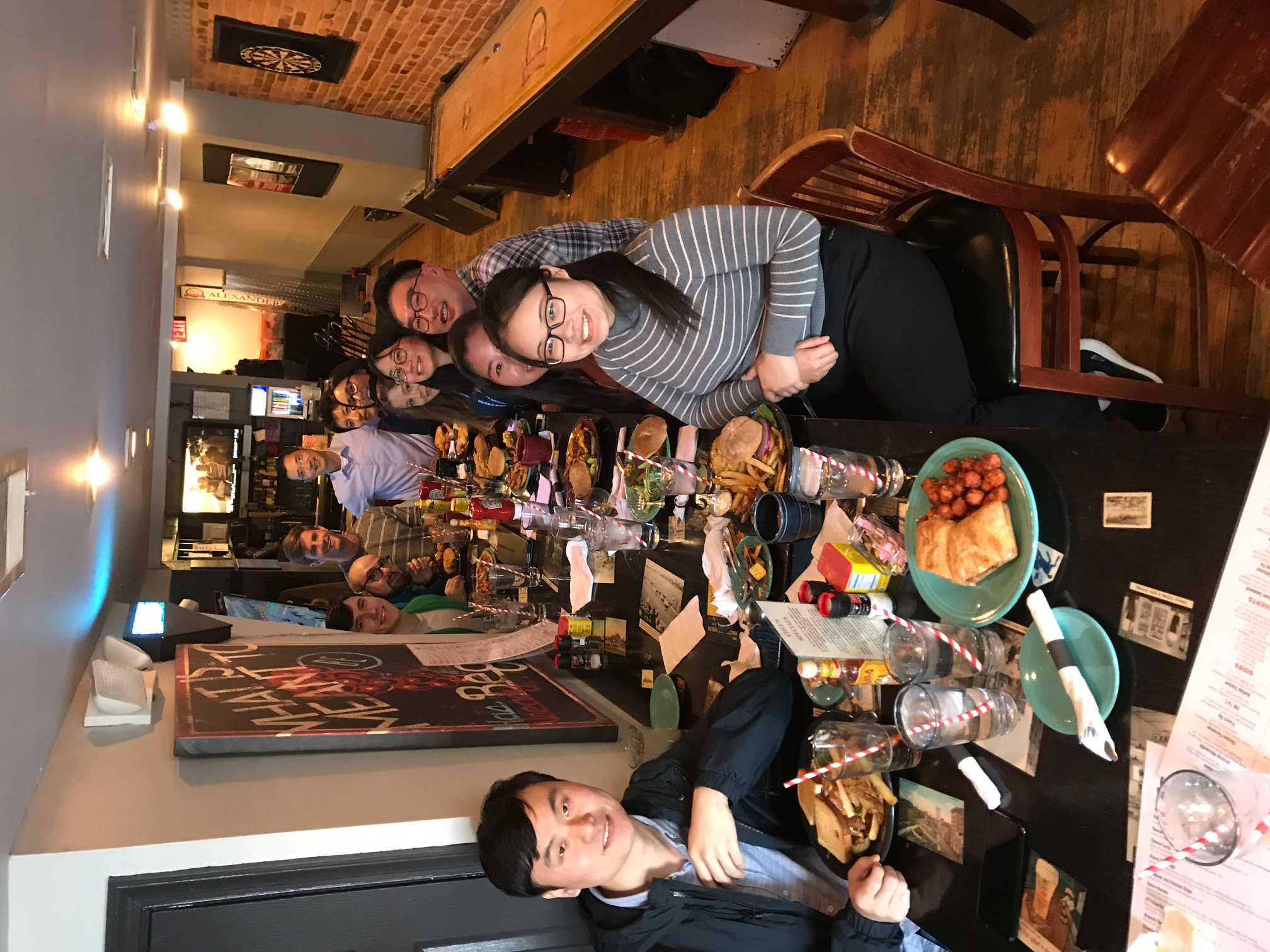 Masashi's Farewell Lunch, Nov 201