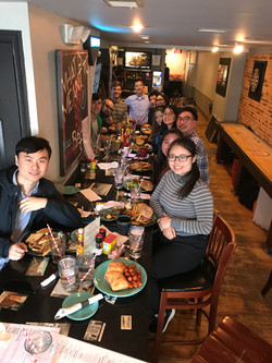 Masashi's Farewell Lunch, Nov 201