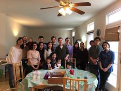 Farewell Party for Qili, Feb 2019