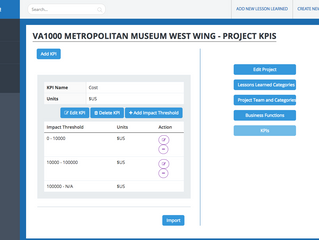 Creating Project KPIs