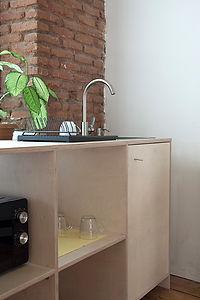coworking tbilisi kitchen design