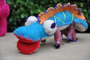 Edgar The Wool Lizard