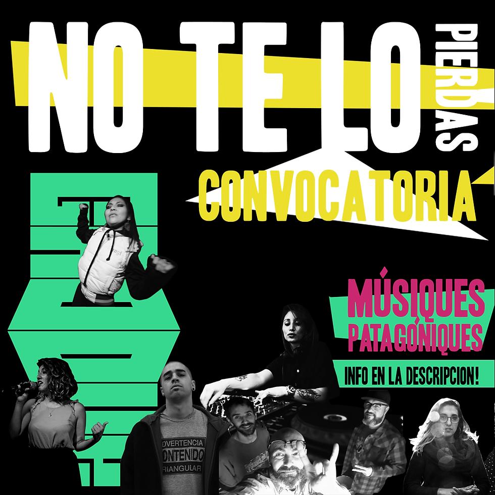 convocatoria de músicos patagónicos