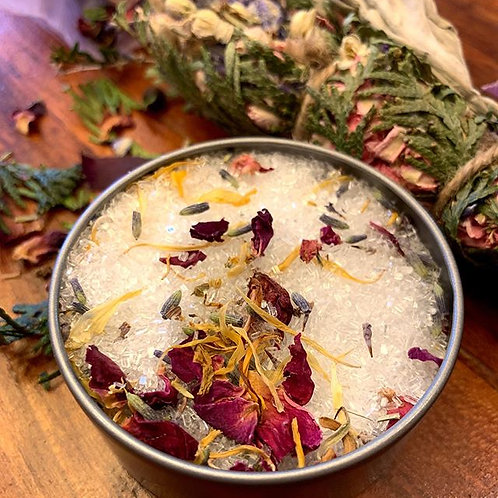 Soothing Herbal Tea Bath Salts