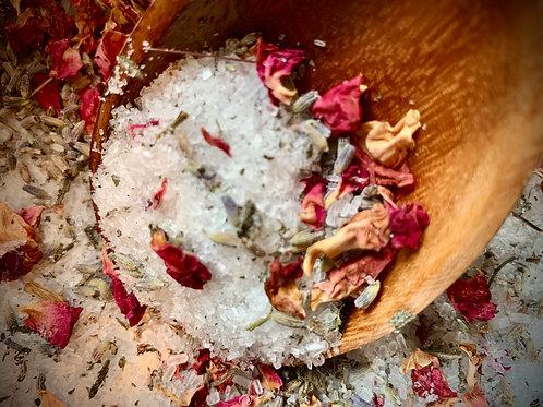 Lavender Sage Herbal Tea Bath Salts