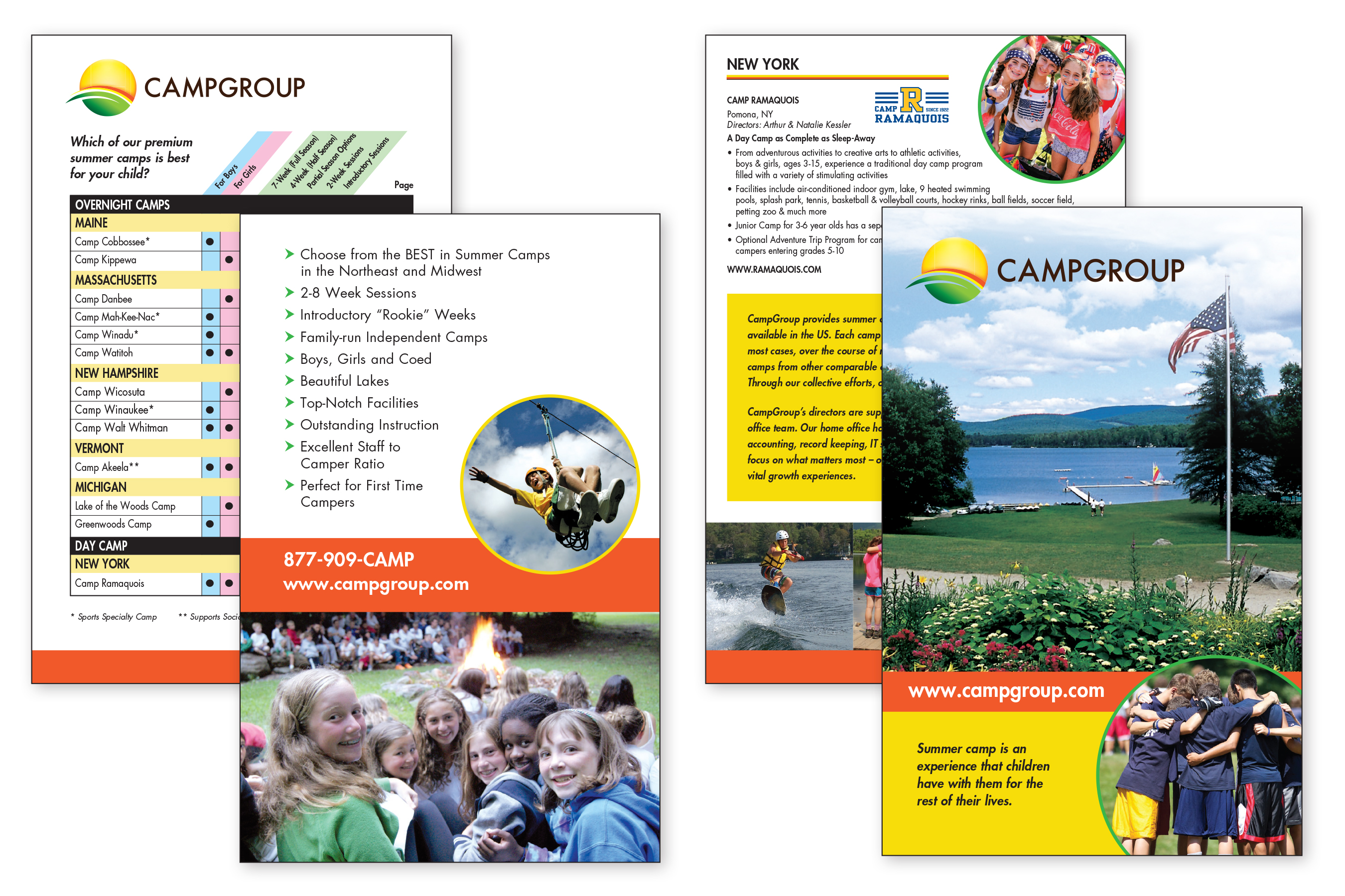 8 page Brochure 5.5x8.5