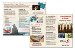 8.5x11 Tri-fold Brochure