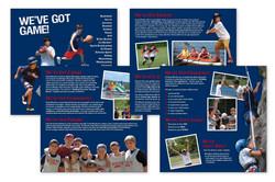8 page Pocket Folder Brochure 8x8