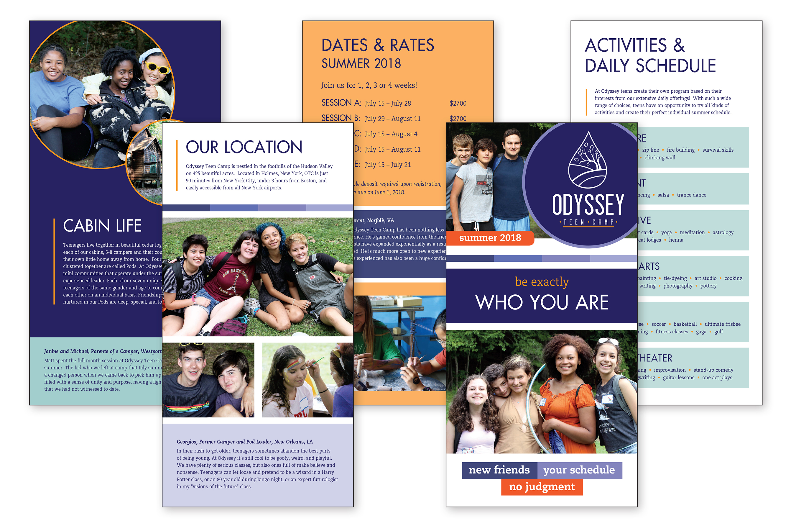 12 page brochure 6x12