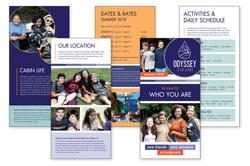 12 page brochure 6x12