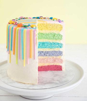 Dripalicious Rainbow Cake