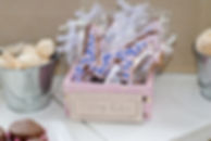 dessert table baby shower giraffe blue biscuits