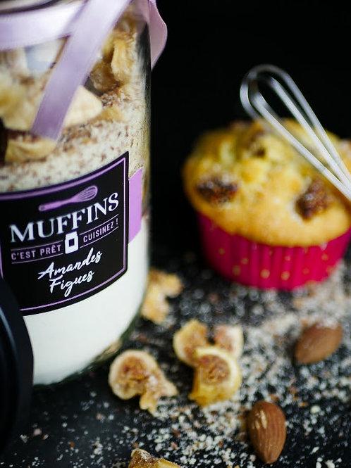 """Muffins """"AMANDES FIGUES"""" (caissette fourni avec)"""