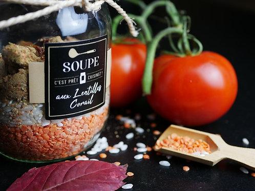 """Soupe aux """"LENTILLES CORAIL"""""""
