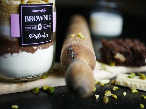 "Brownie ""PISTACHE"""