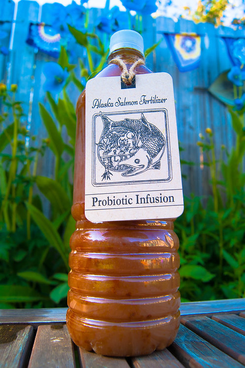 Alaska Salmon Fertilizer's Probiotic Infusion